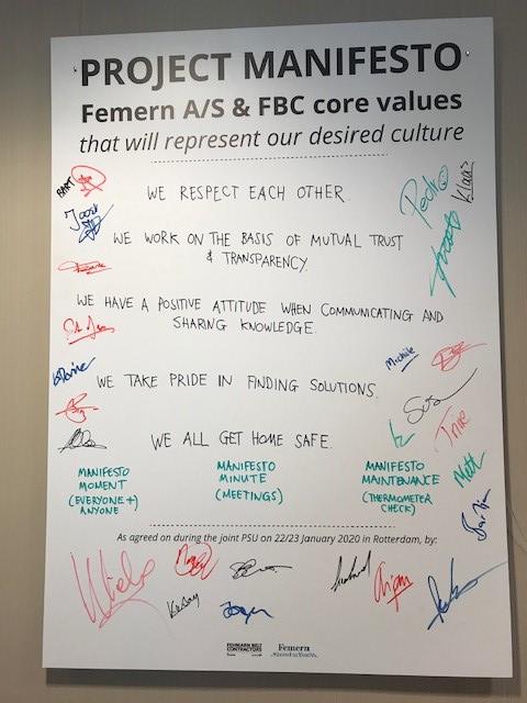 Project Manifesto Femern A/S and FBC